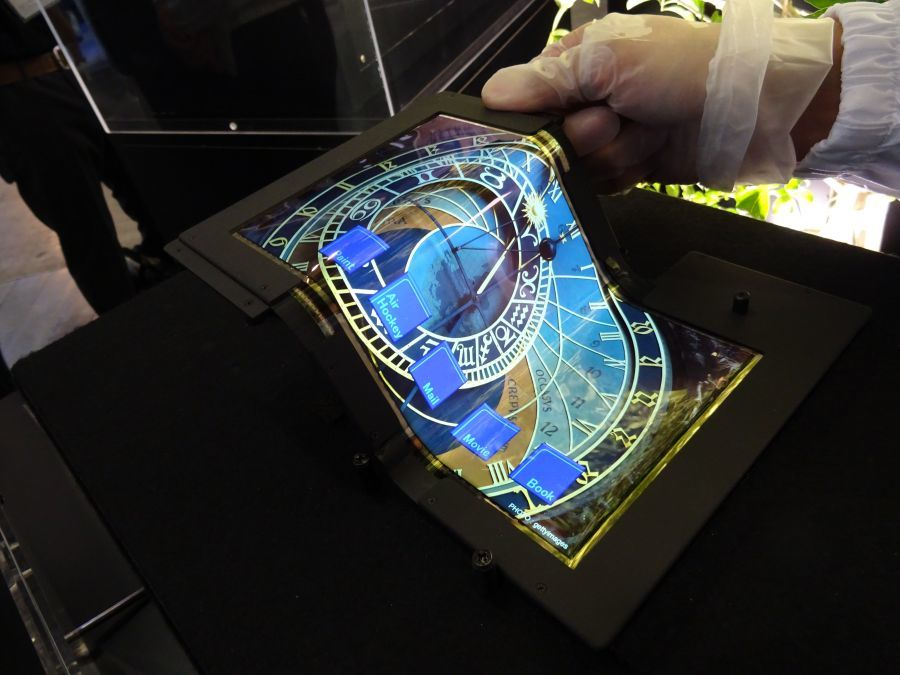 The Foldable Display Prototype