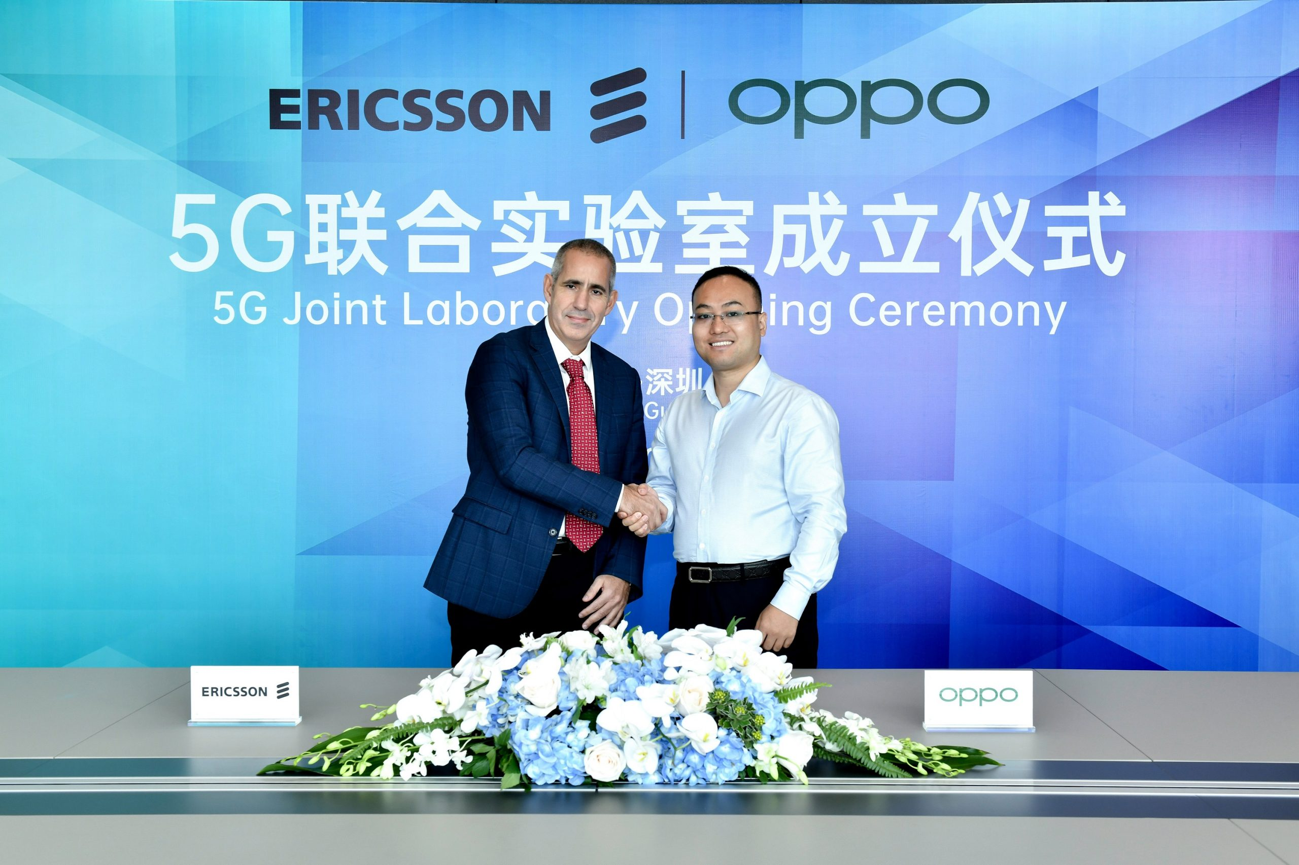 Oppo Ericsson partnership