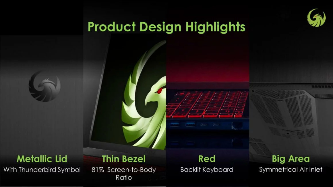 Product design highlights