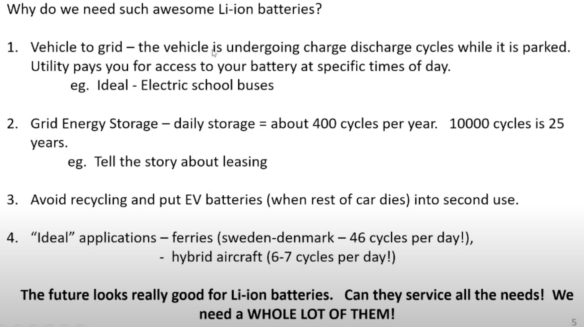 The new Tesla battery has a life span of 2 million miles ...
